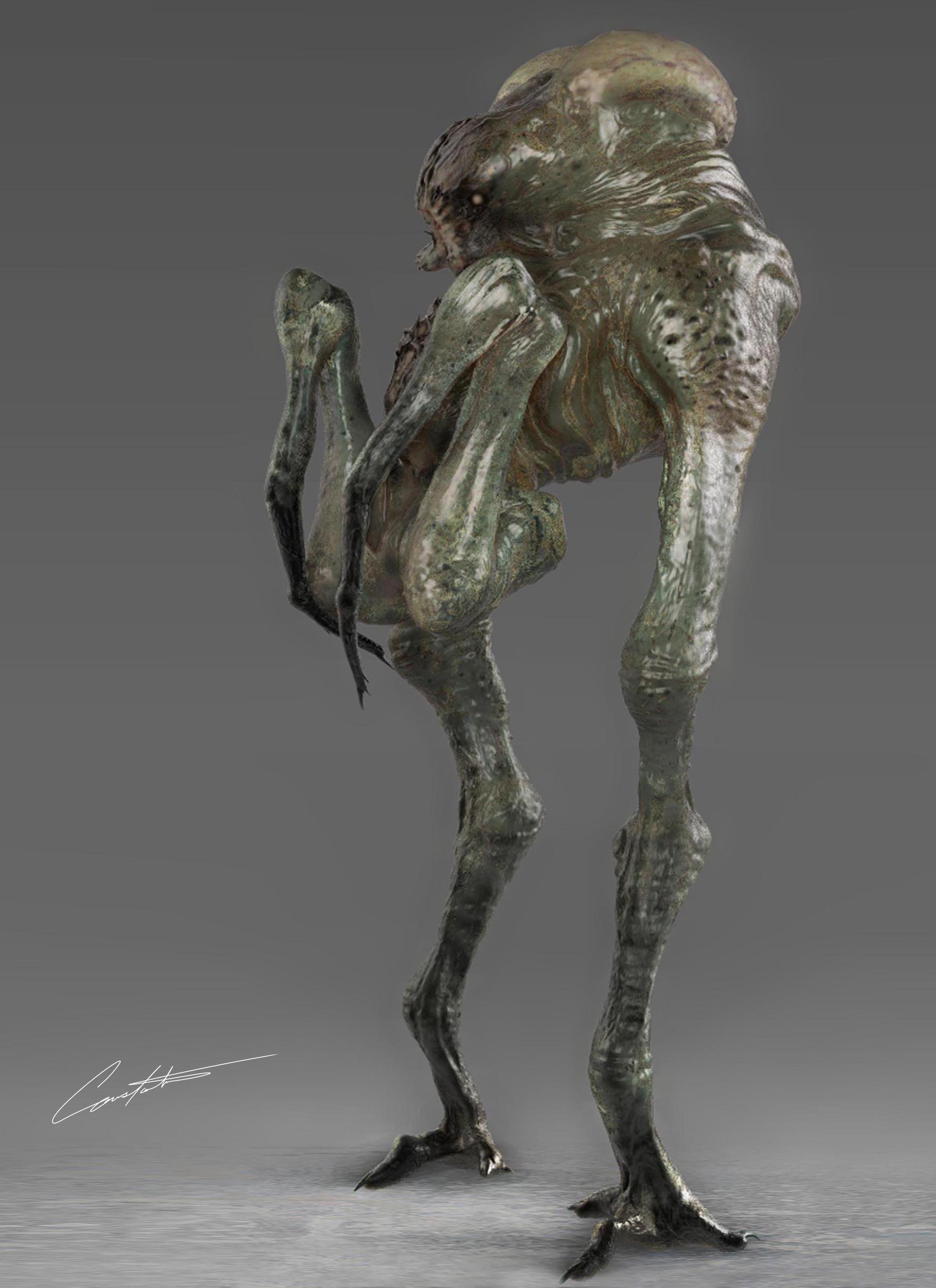 Fun bug alien creature design