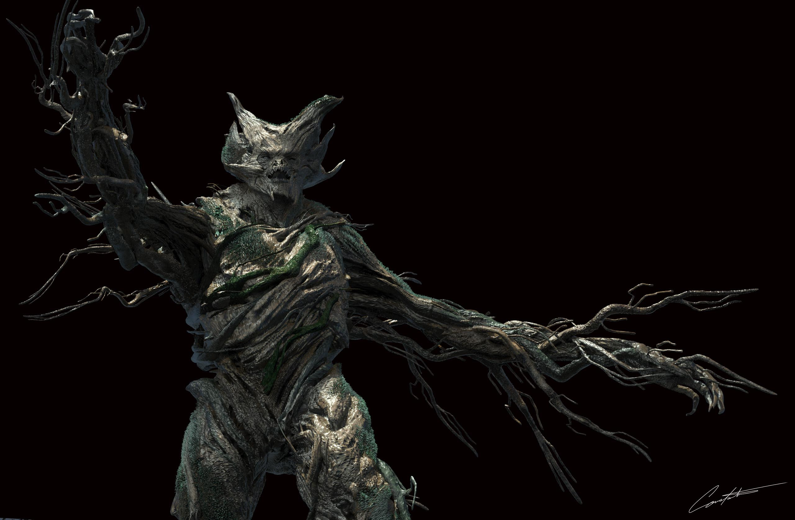 Grimm Tree Creature Design Season 6