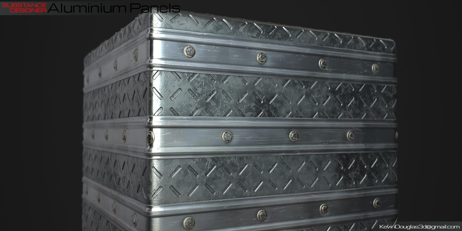 Aluminium Panel on Cube