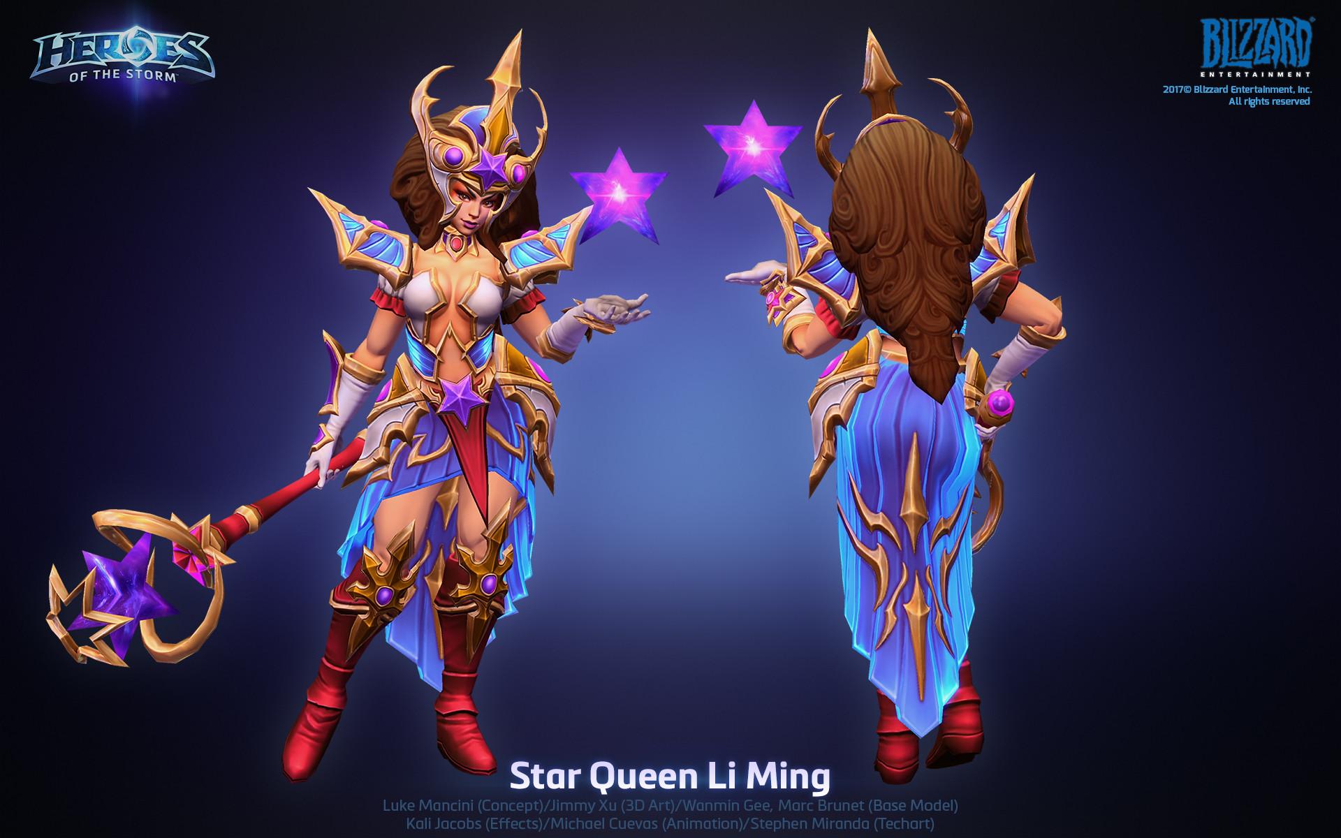 J U X Hots Star Queen Li Ming