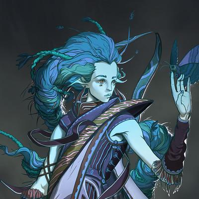 Sebastian wagner enaeri witch concept blue