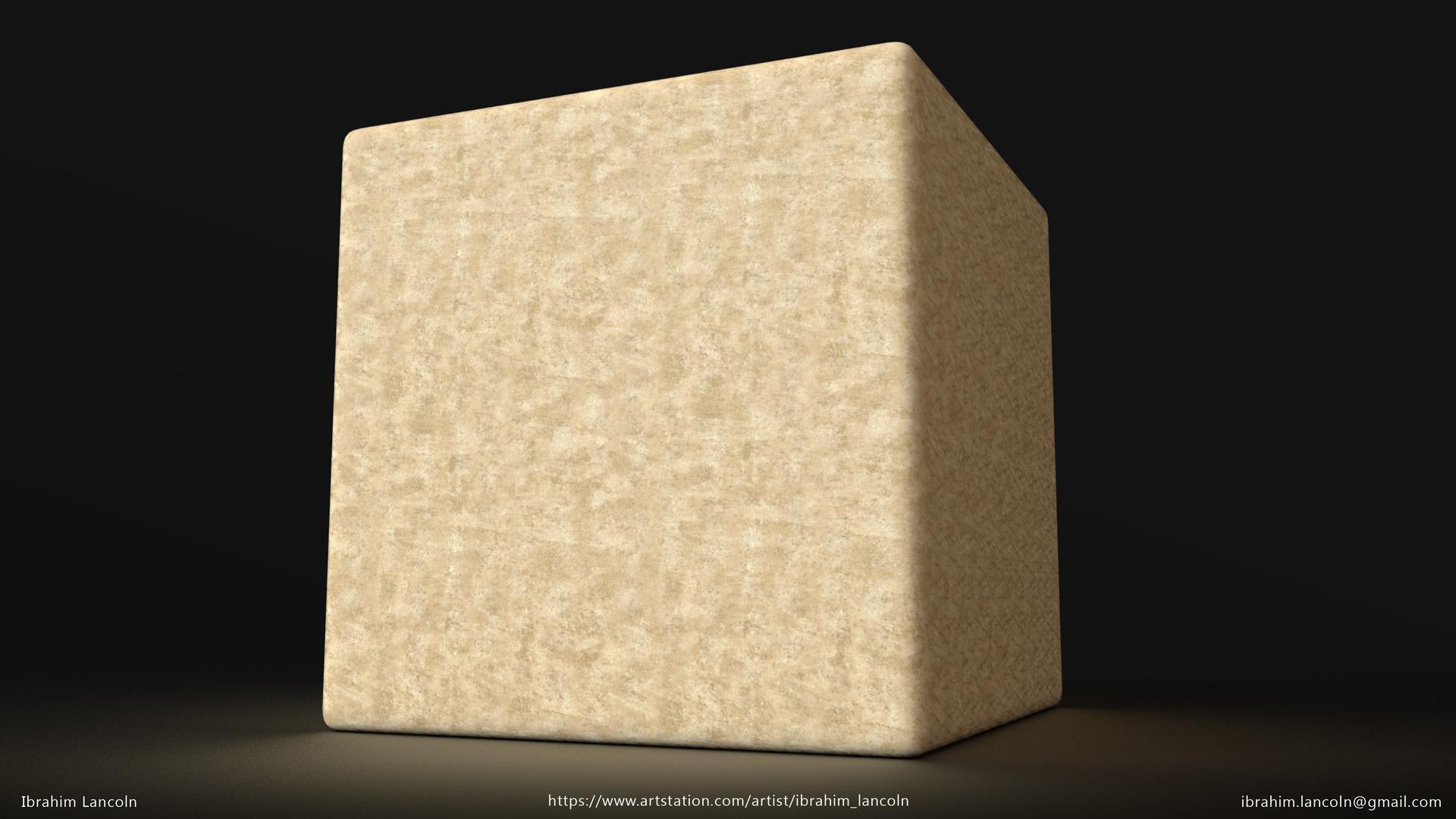 Ibrahim lancoln cube sand