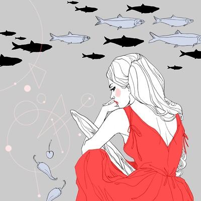 Marguerite sauvage novel illustration