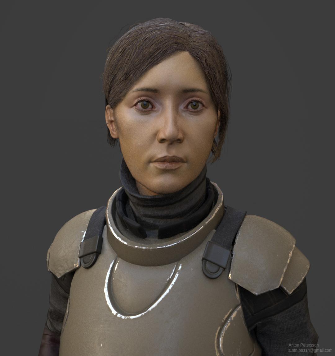 Sci Fi Swordswoman