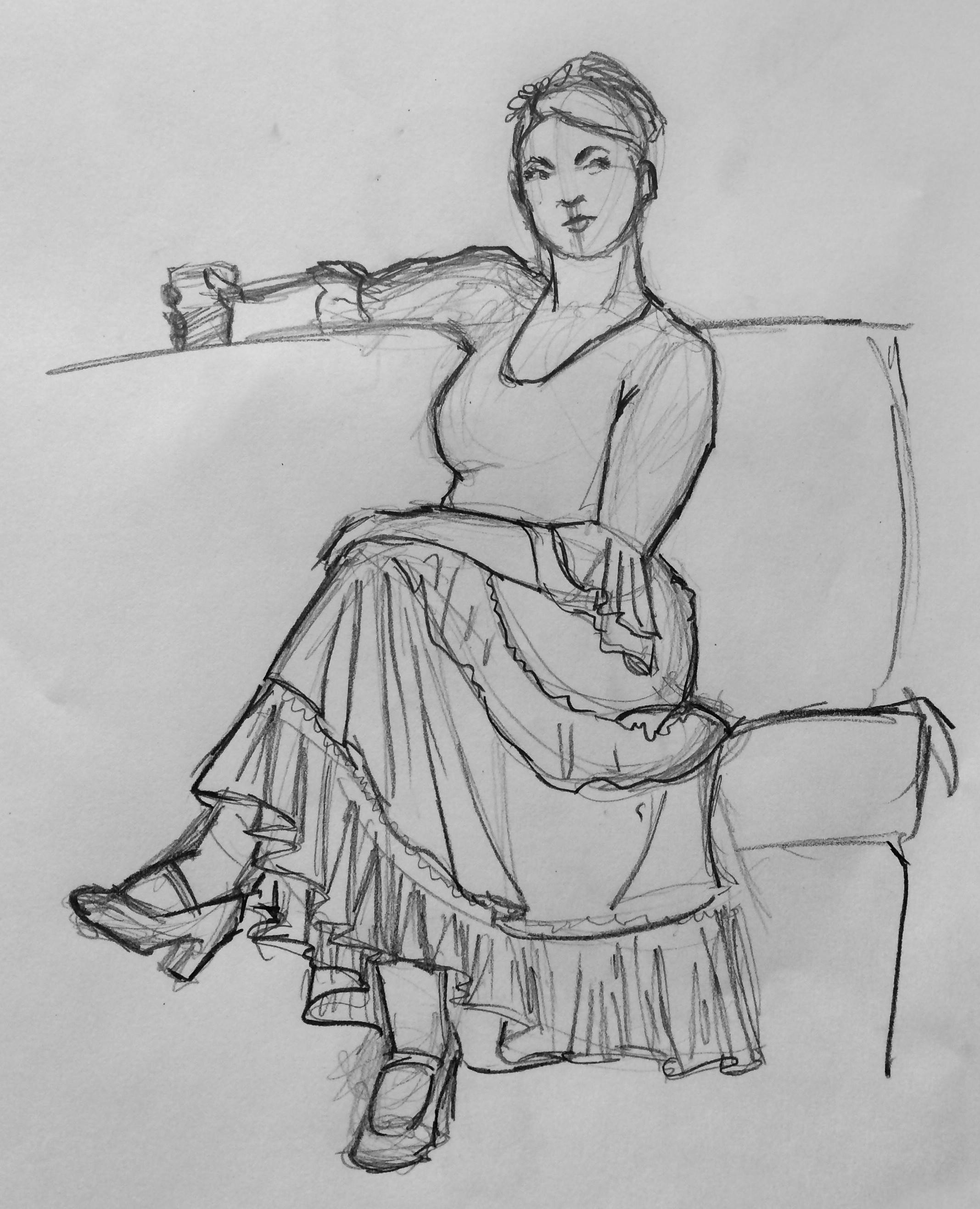 Original 15 minute drawing