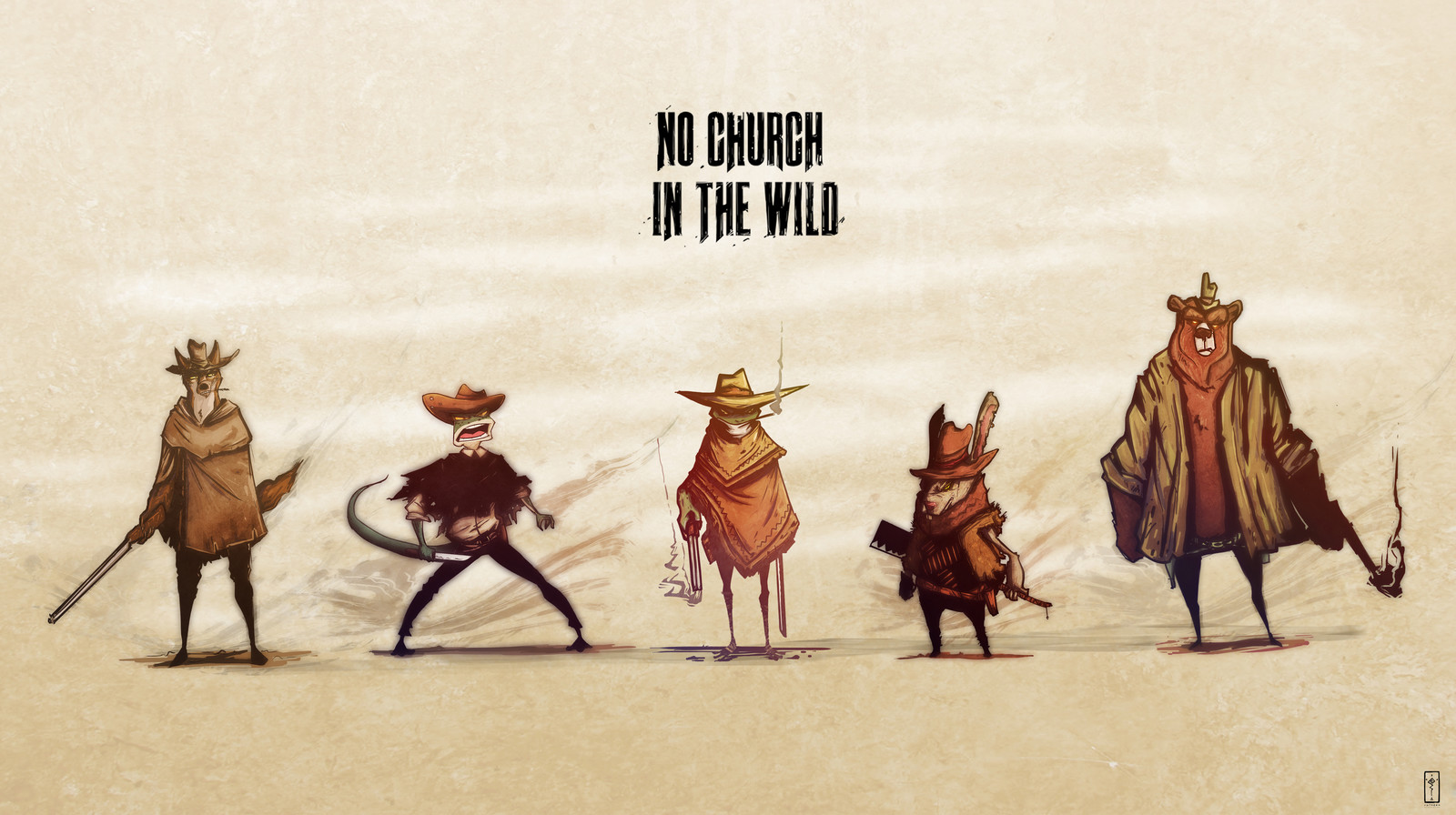 Church In The Wild - Comic Character Design Showcase