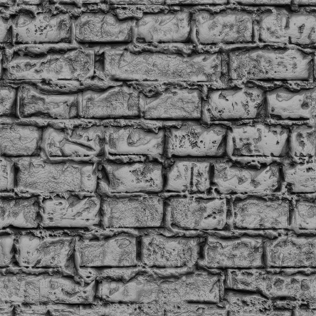 Mortar Brick Sculpt - Study 02