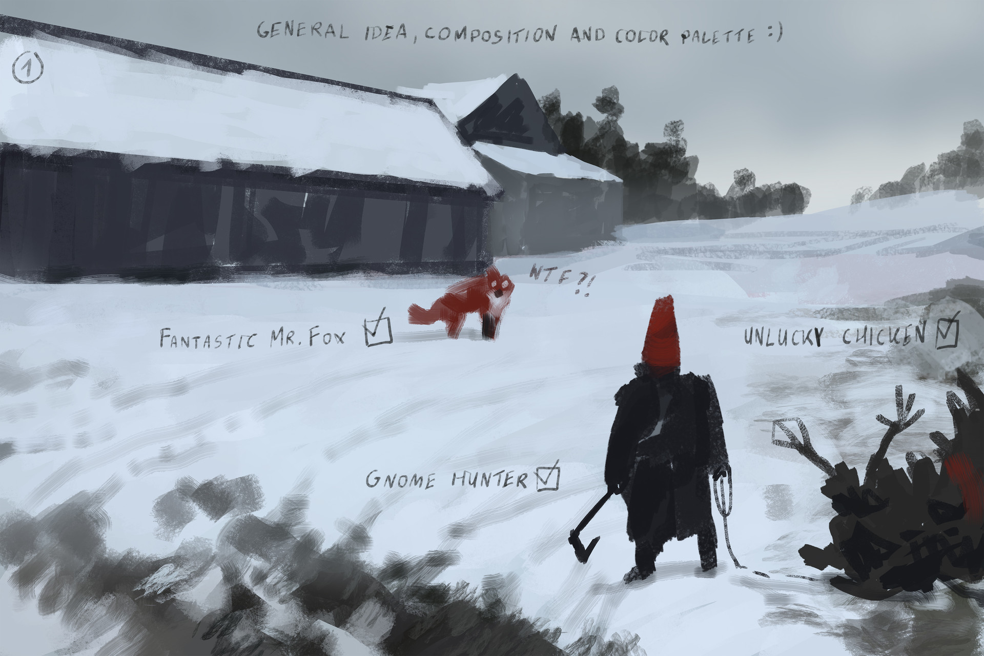 Jakub rozalski competitors process01