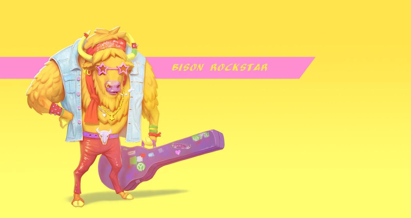 Bison Rockstar