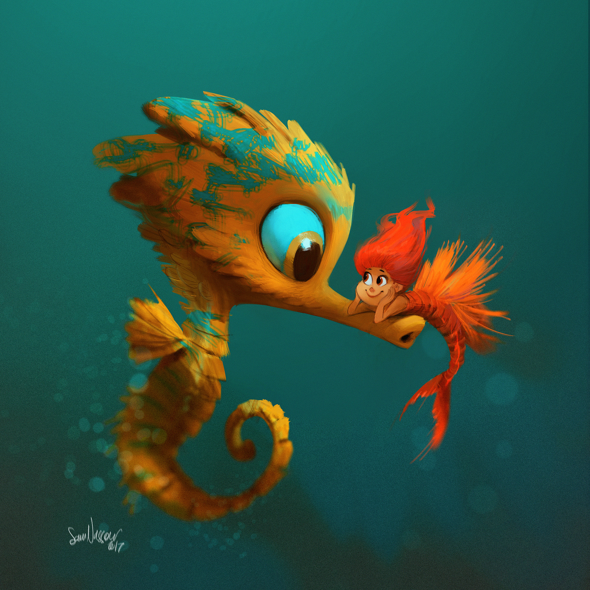 Sam nassour mermseahorse