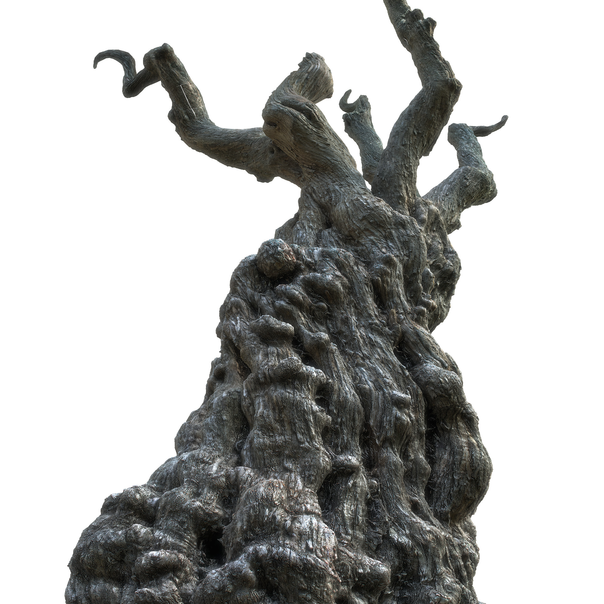 ArtStation - Game Ready Tree Trunk Real-time 3D Model, · K
