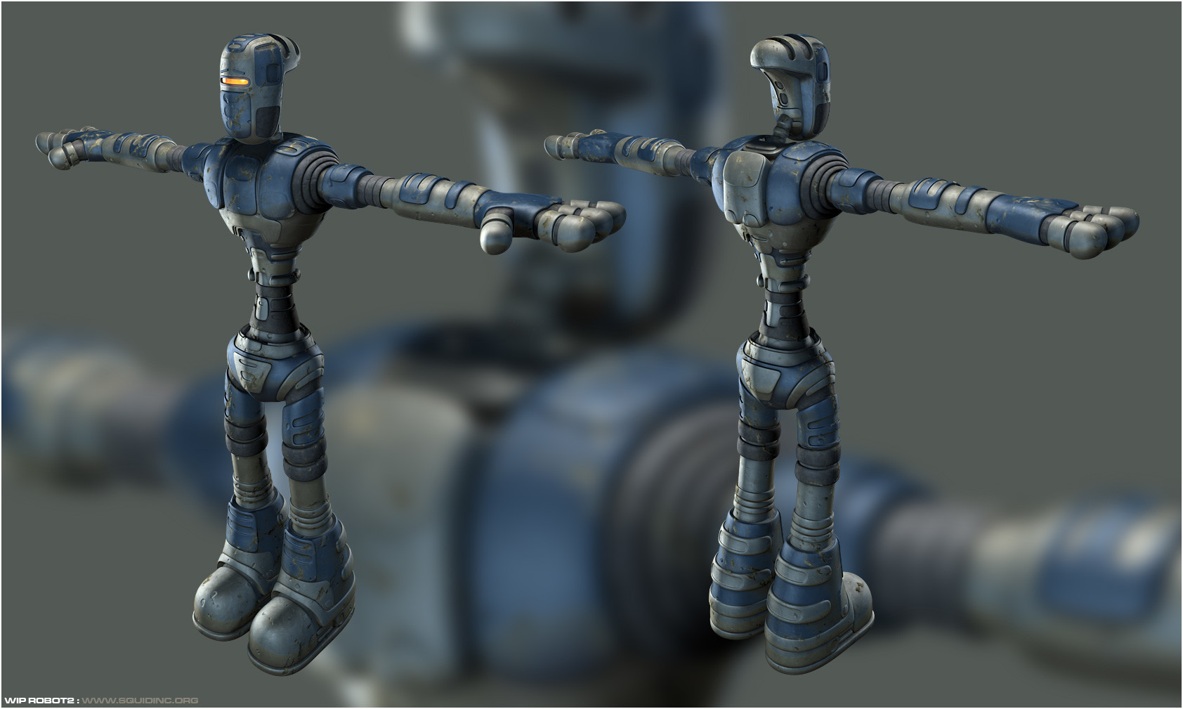 Mike robinson wip robot2c