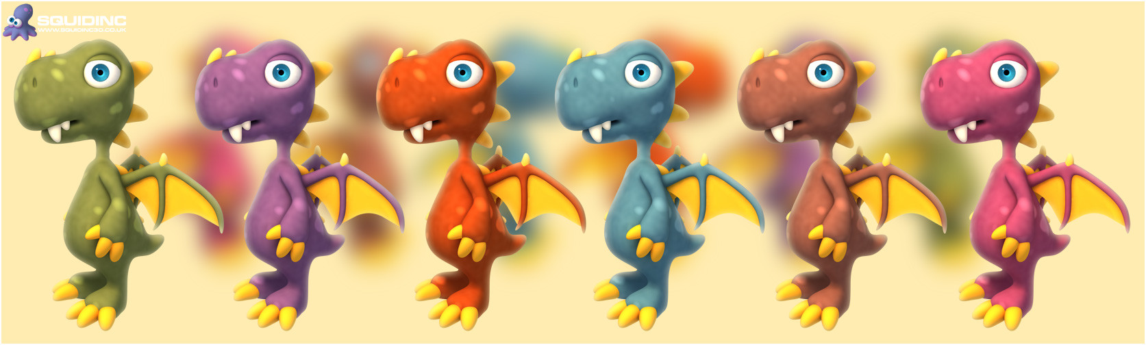 Mike robinson colour dragons
