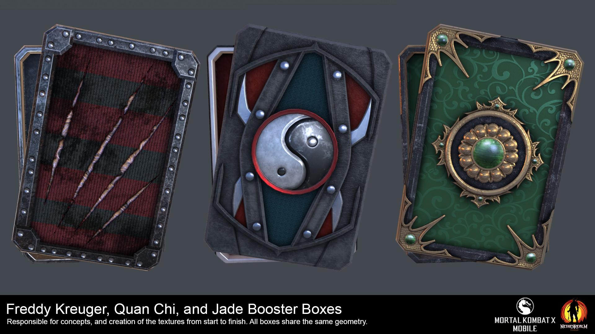 ArtStation - Mortal Kombat X (Mobile) Booster Boxes, Nina