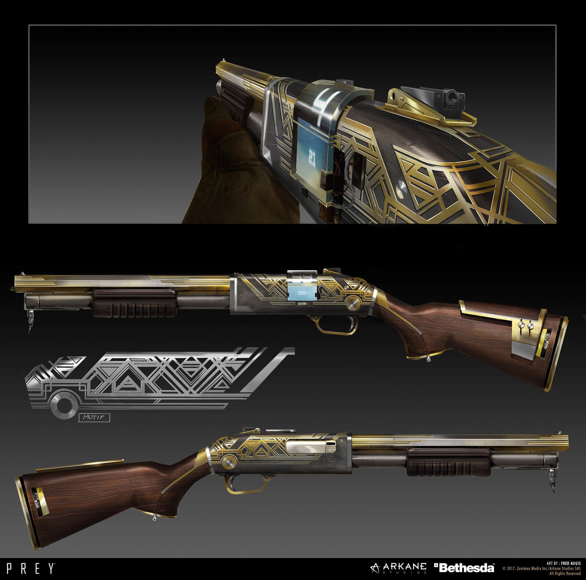 Fred augis weapons 2