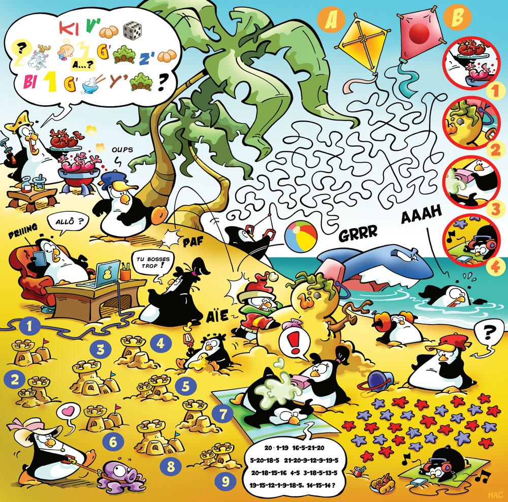 "( made for "" Le journal de Mickey "" Disney Hachette Presse )"