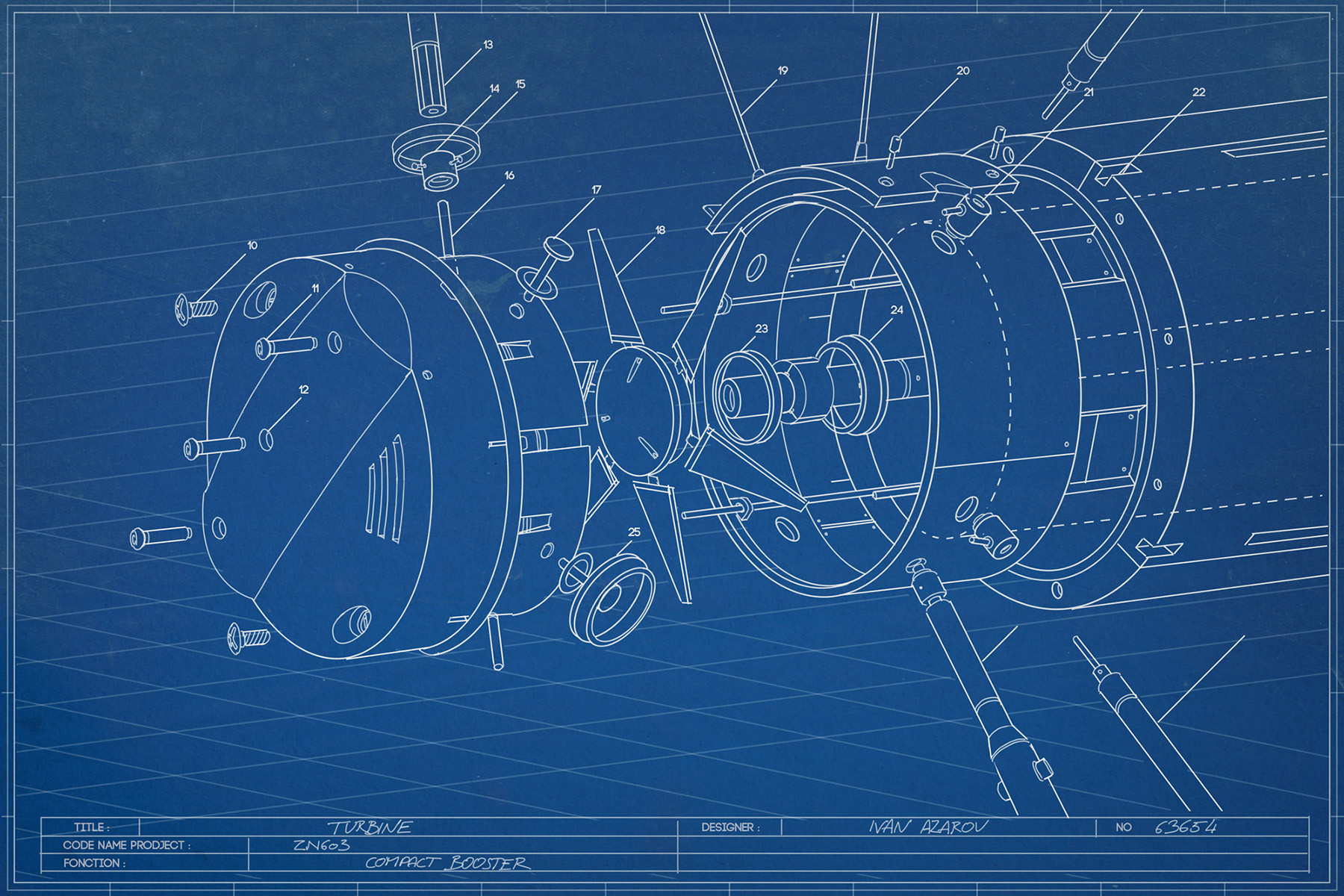 Fred augis blueprinta