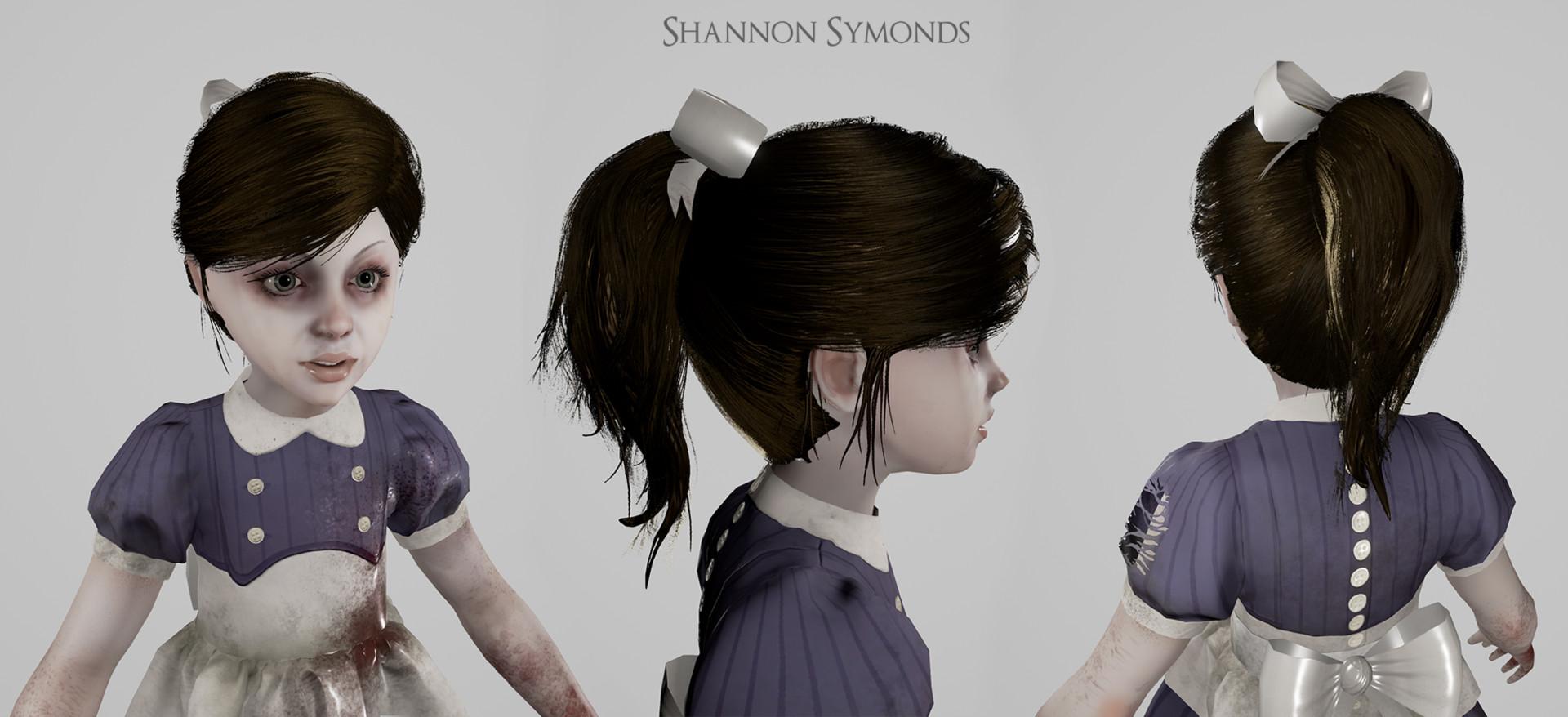 Artstation Little Sister Bioshock 2 Shannon Paisley Symonds