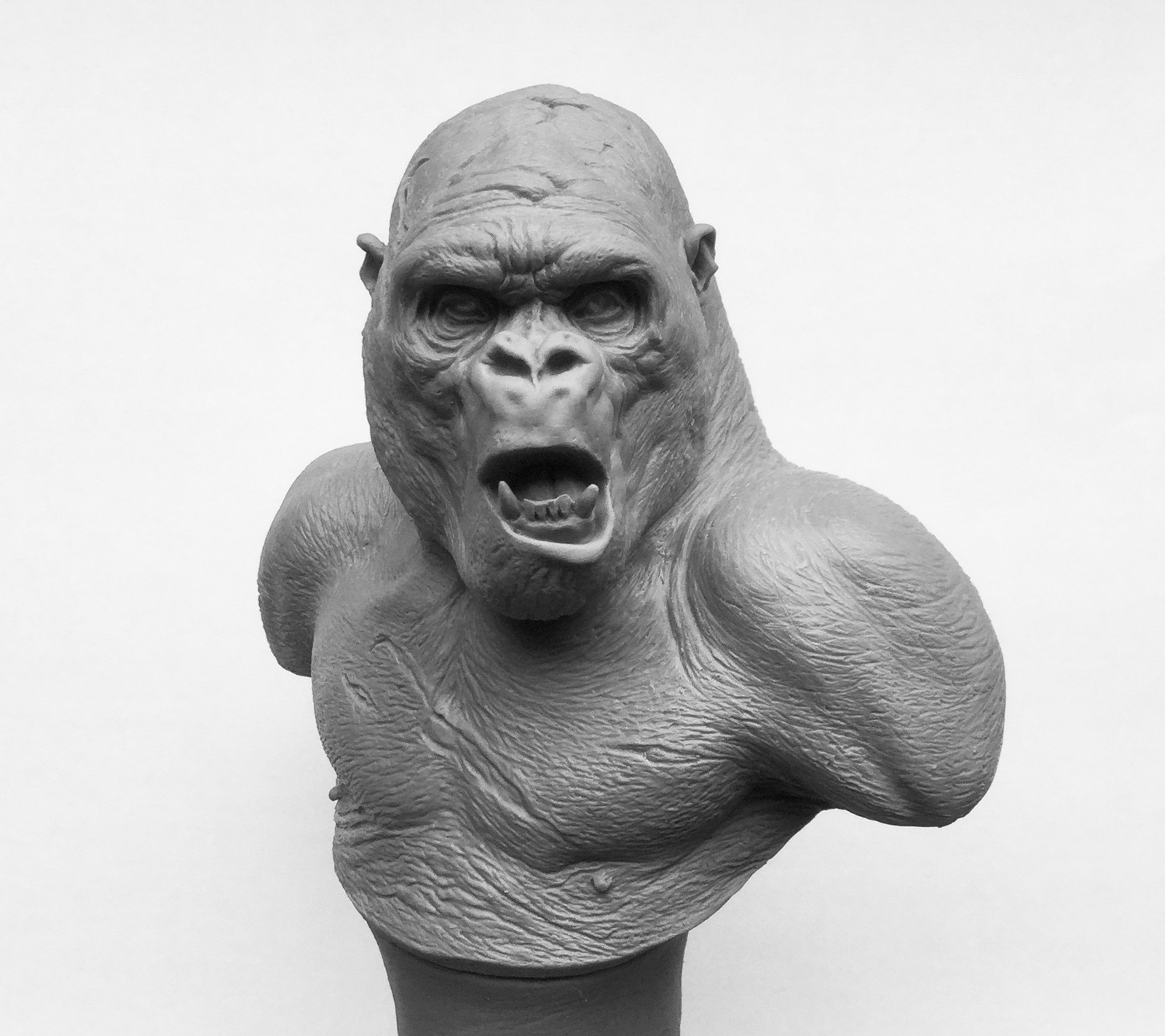 Gorilla/ Monster Clay/4 inches