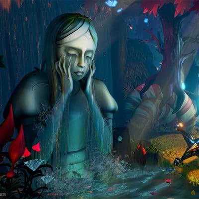 Vale of Tears level - Alice: Madness Returns