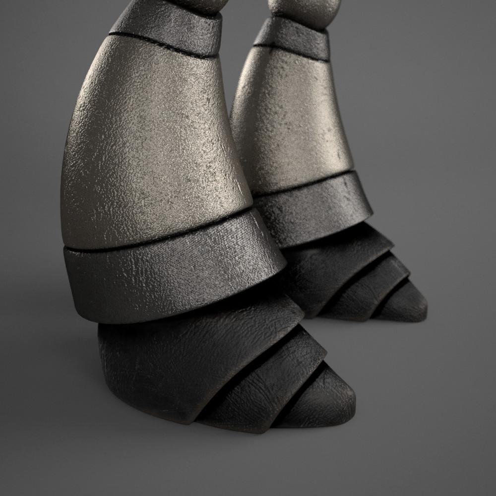 Marc virgili robot textured06