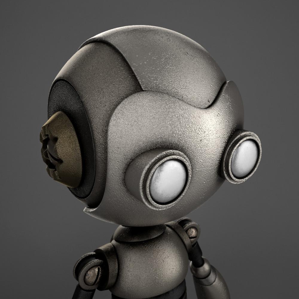 Marc virgili robot textured02