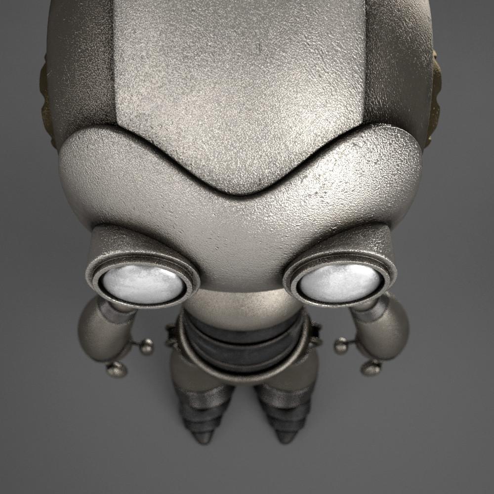 Marc virgili robot textured04