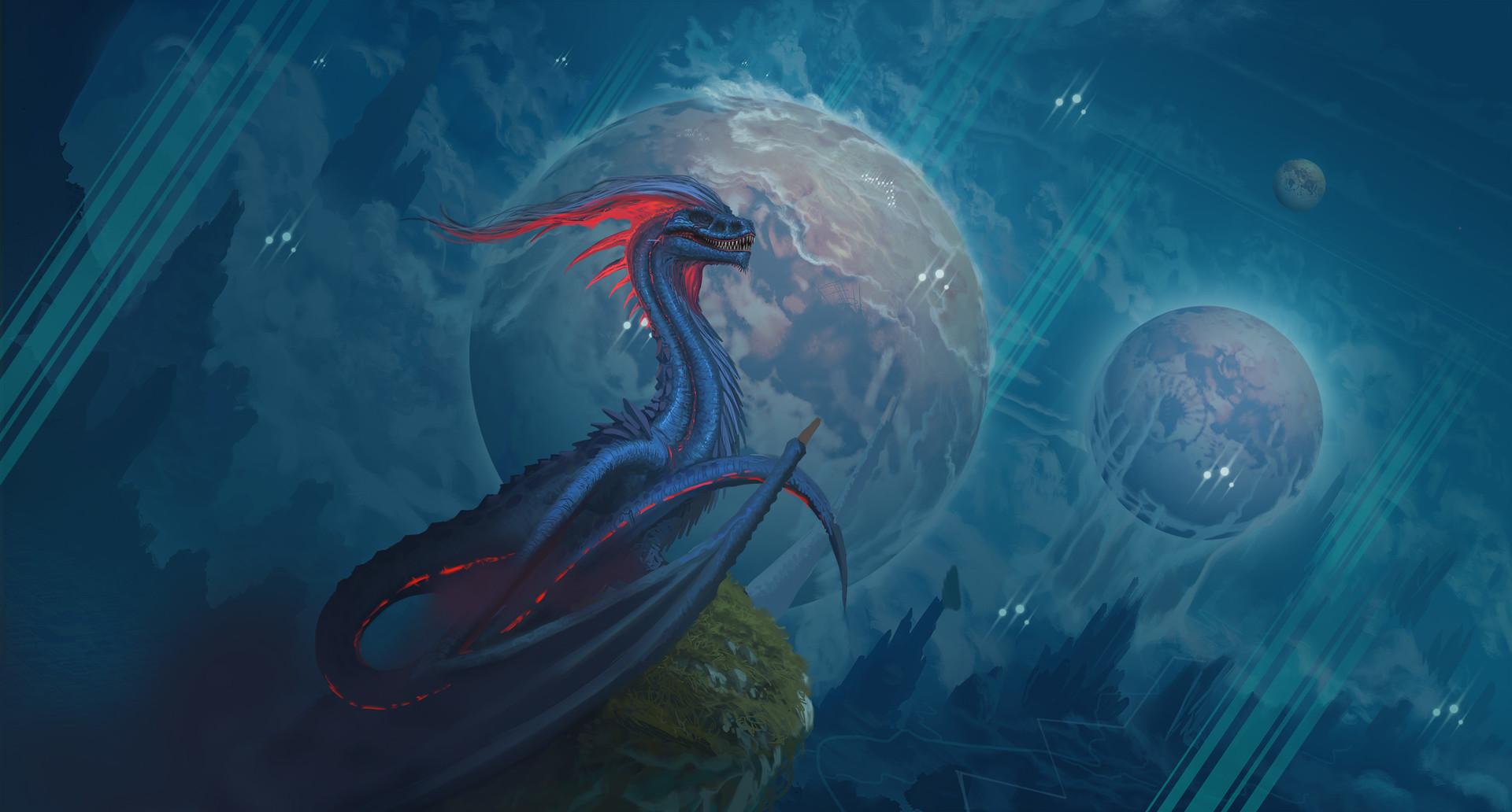 Francisco badilla floyd dragon sketch bueno 7