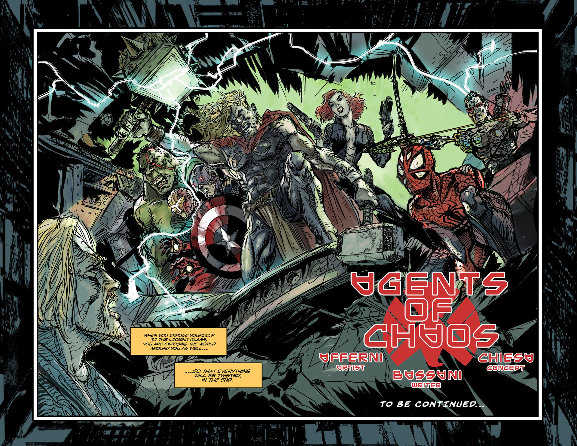 Page 6 - 7 double splash page
