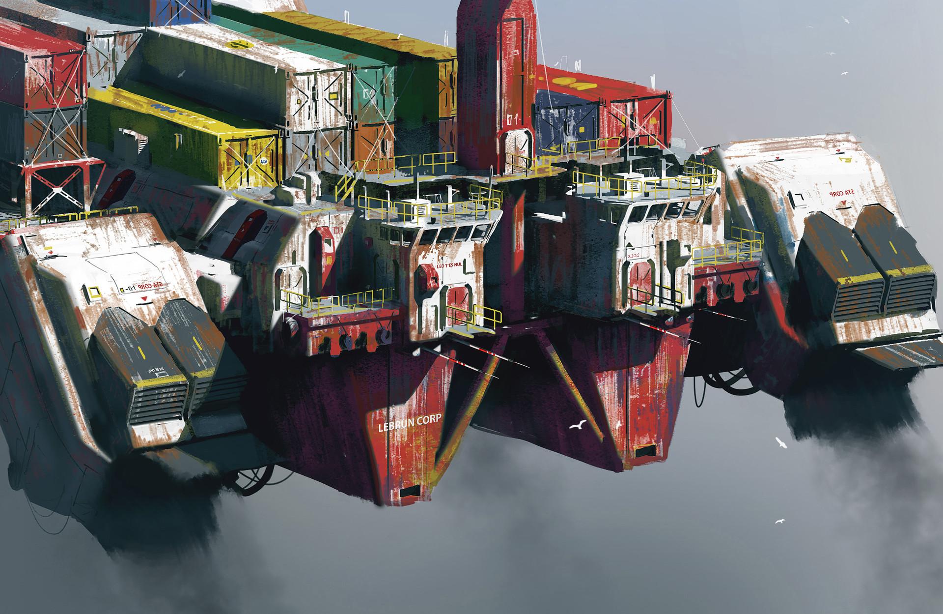 Paul chadeisson testspeed 0161 ship closeup 01