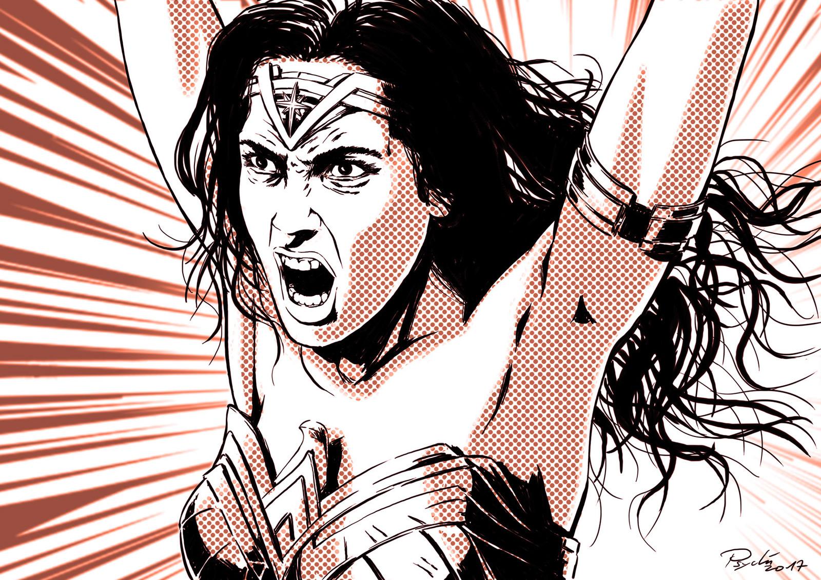 Tribute to Wonderwoman