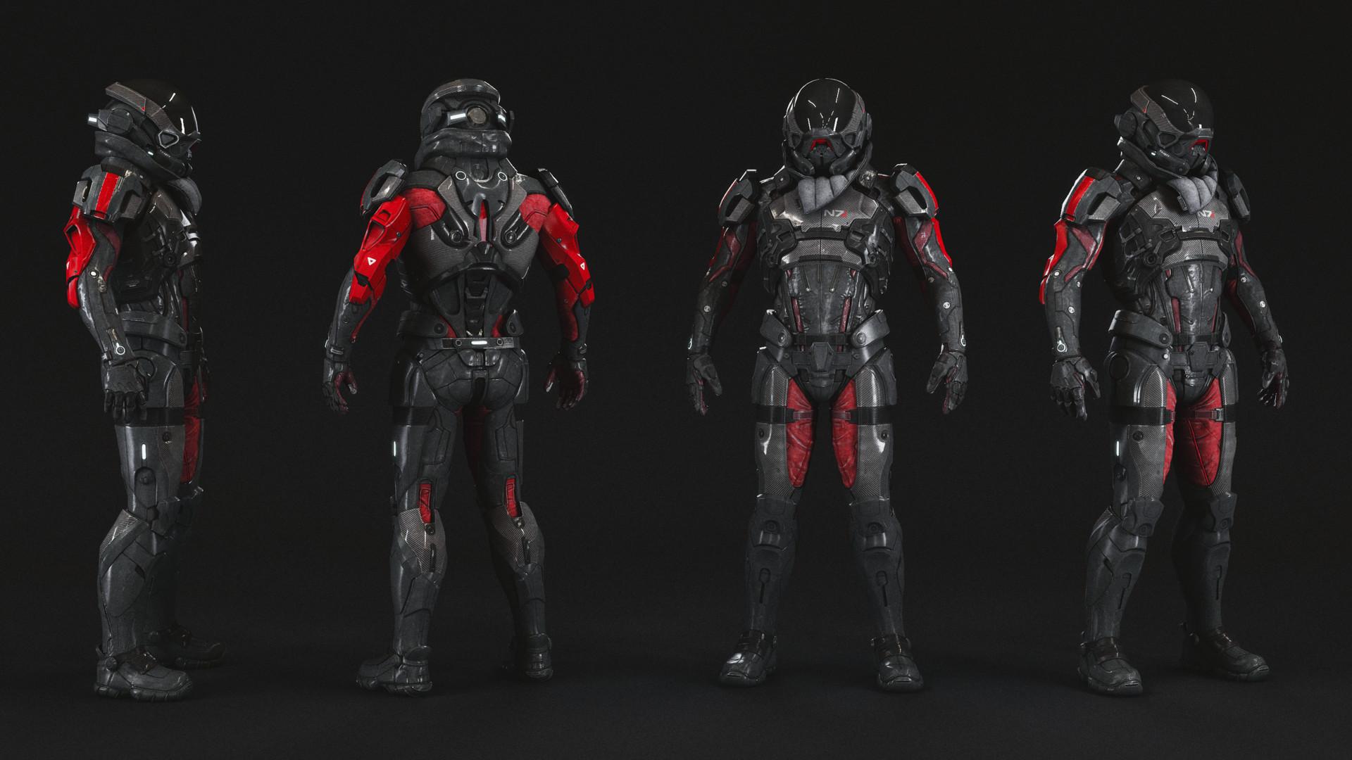 N7 Armor Mass Effect Andromeda: Pathfinder Armor Mass Effect Andromeda