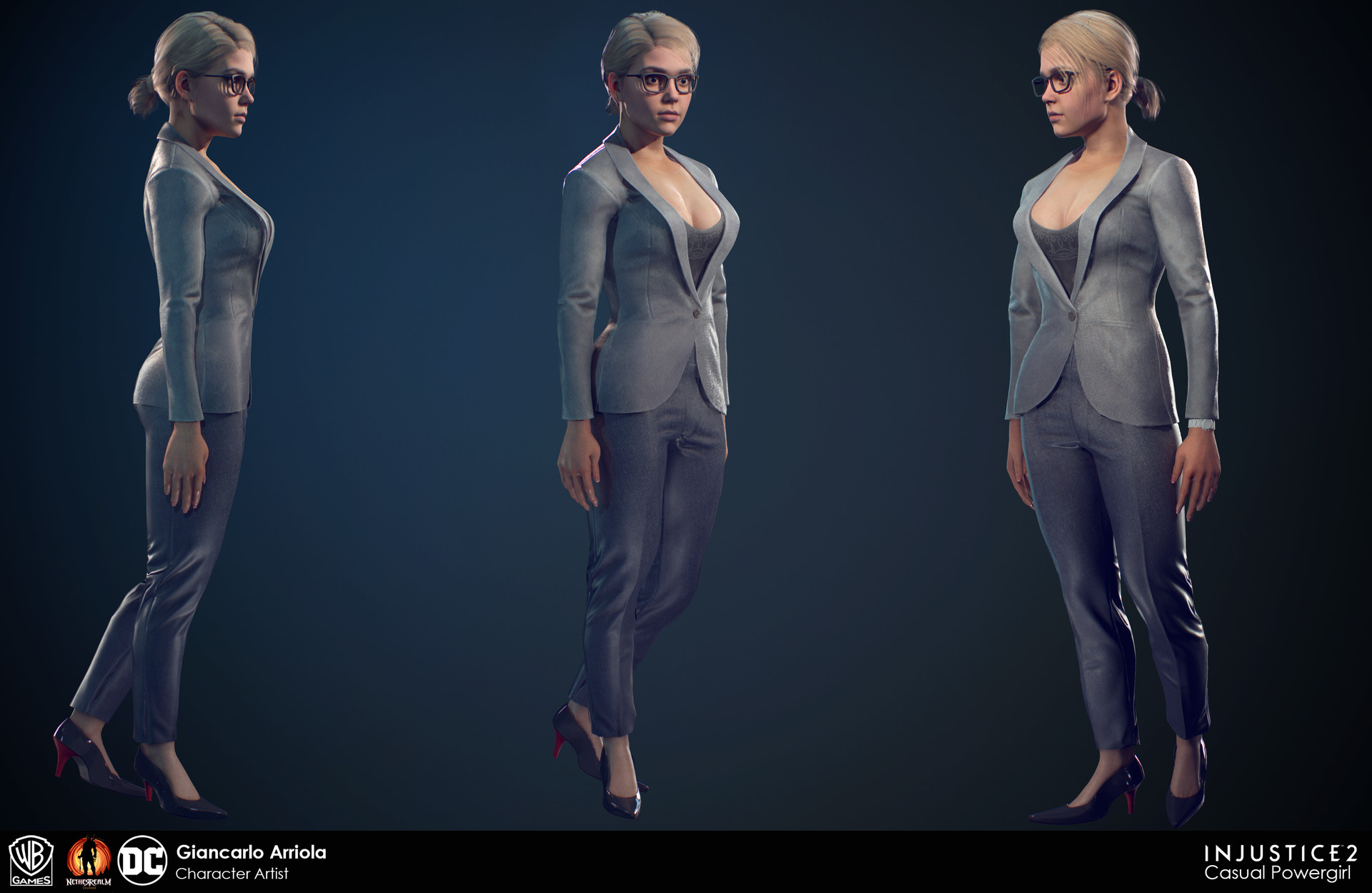 giancarlo arriola   injustice 2 business suit powergirl
