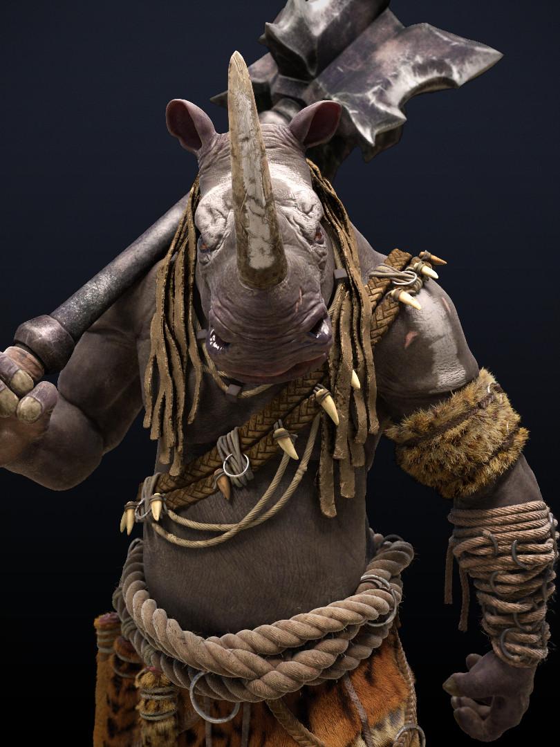 Omar chaouch rhino half master