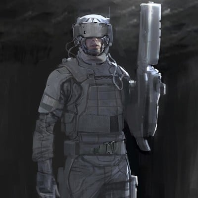 Constantine sekeris ghost n shell police soldier01aa