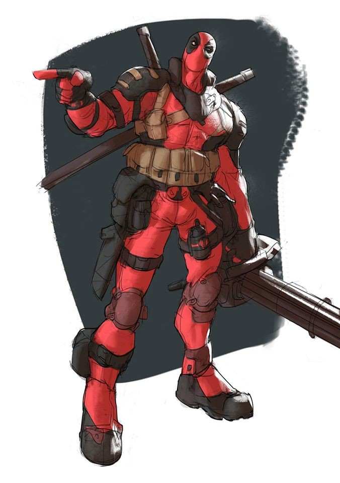 Tank Deadpool! first Patreon creation yes