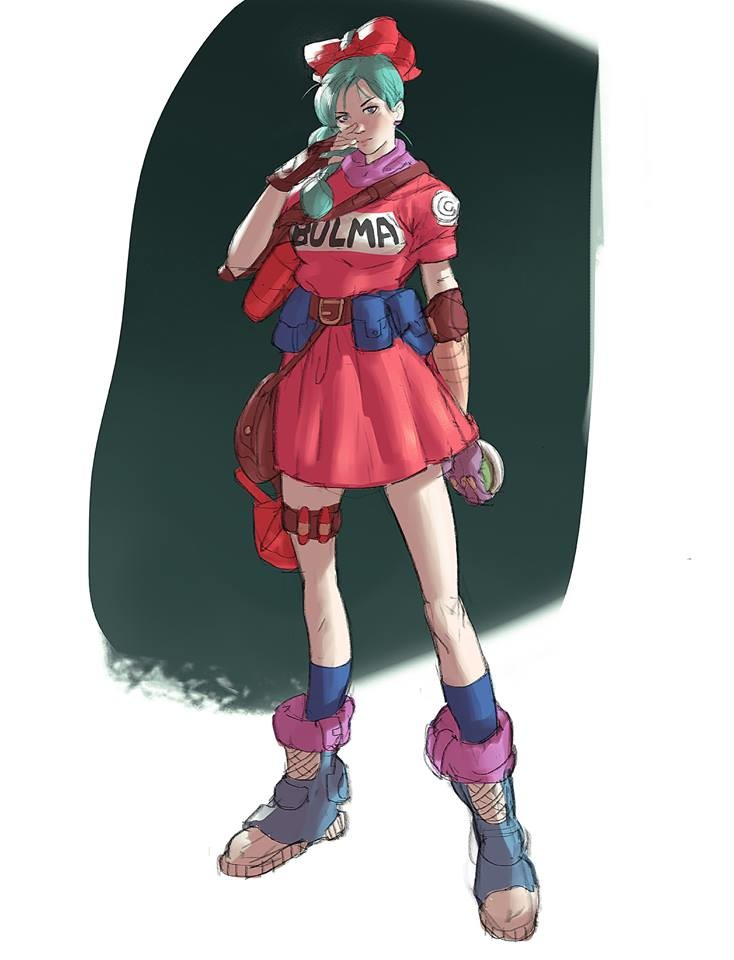 Bulma!!!! I'm almost done with term 1 and I can't leave behind Dragon Ball Z