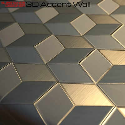 Kevin douglas accent wall 3dcubes beauty cu