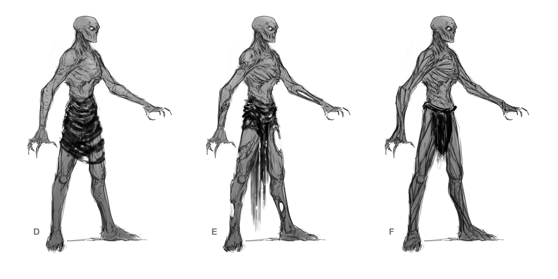 Adam milicevic sandman human bodies cloth