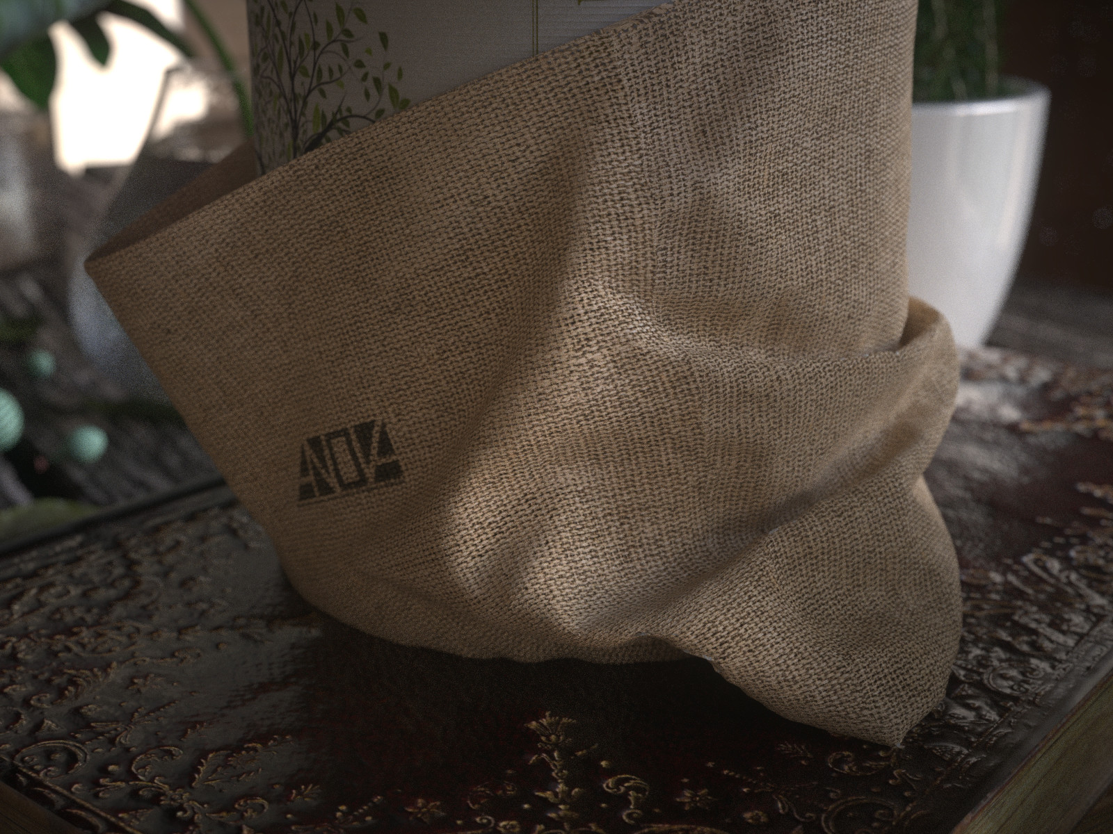 Sack Modeling for Still Life Project
