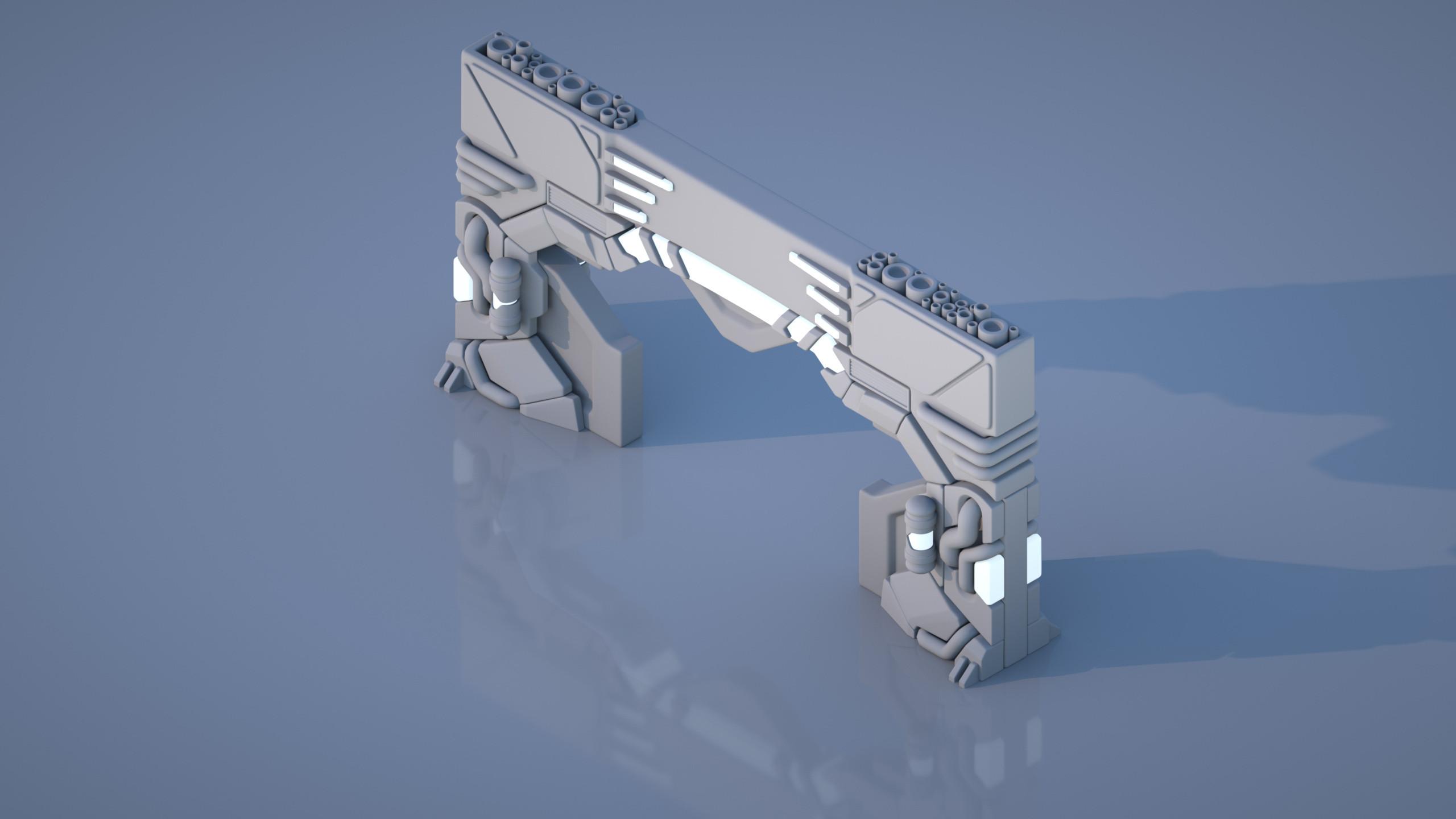 Scifi Door [Open]