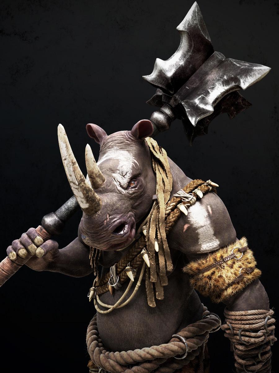 Omar chaouch rhino closeup01