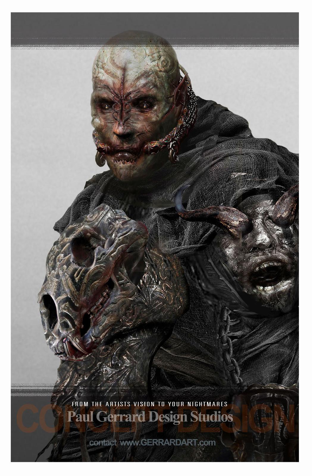 Head variations from Dadga Mor / The Shannara Chronicles