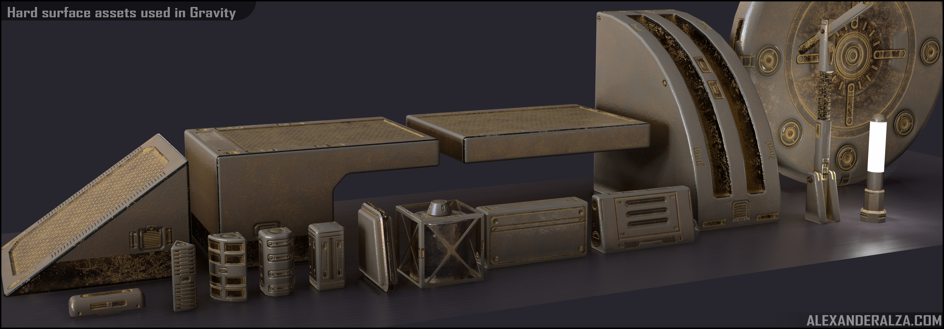Gravity - Hard Surface Props