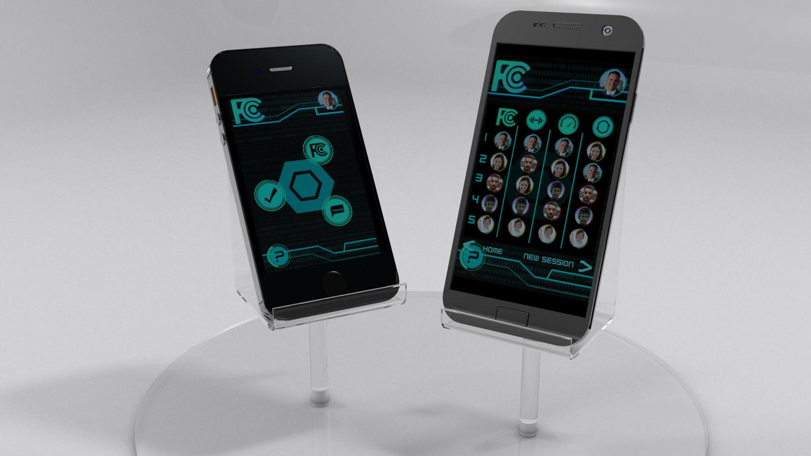 Phone Display for app presentation