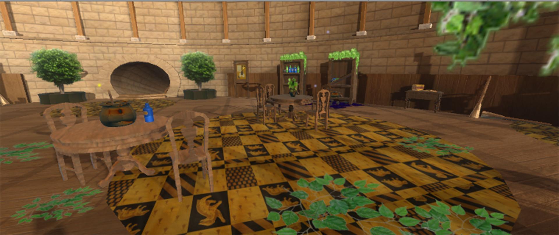 ArtStation - 3D Environment (Harry Potter - Hufflepuff Common Room ...