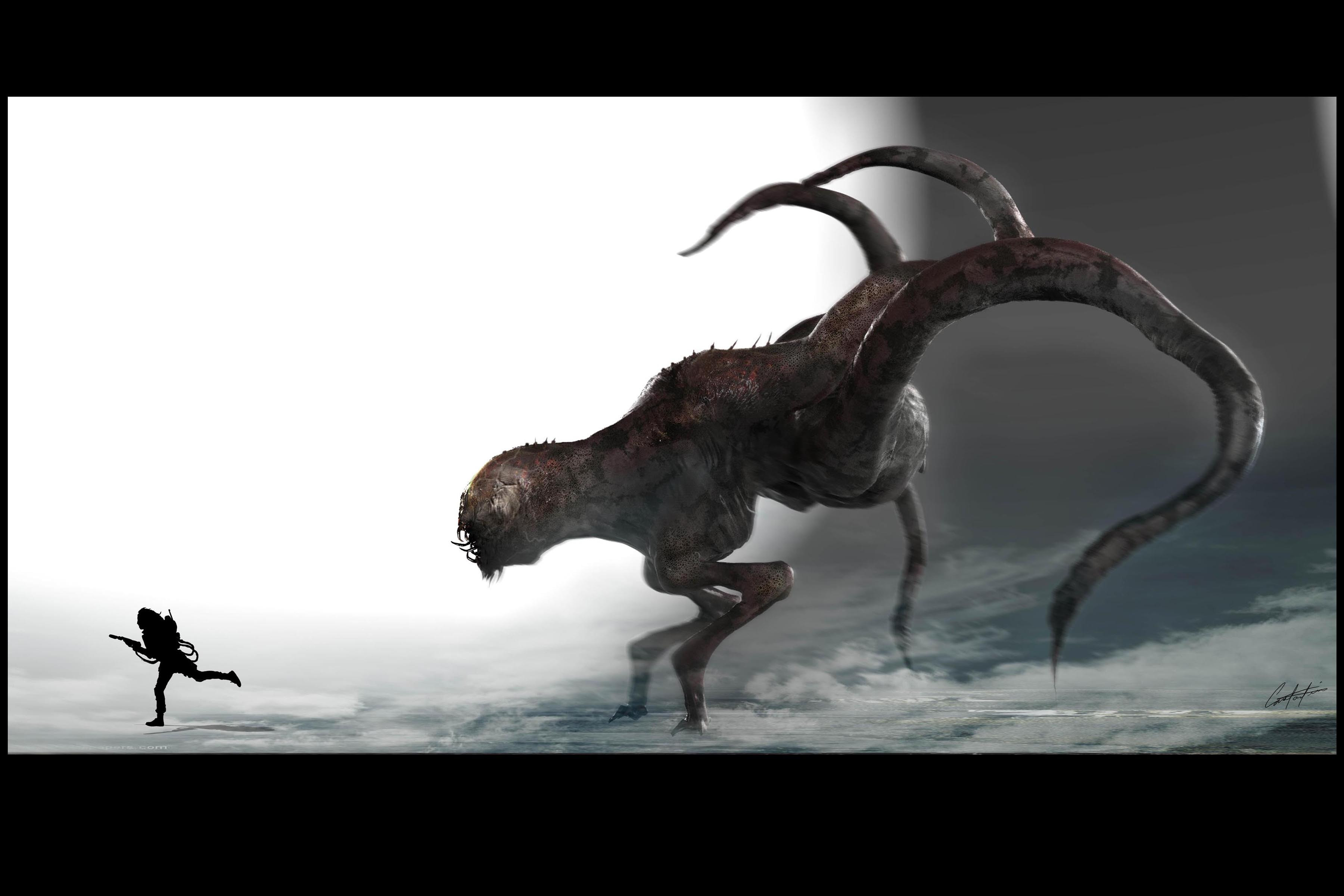 GHost Busters remake Tentacle Creature designs