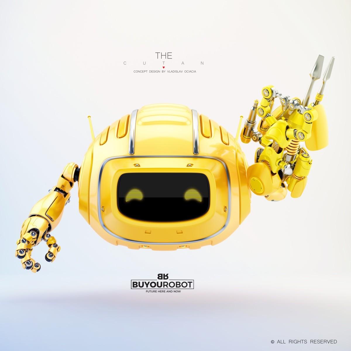 Vladislav ociacia combat cutan robot 10