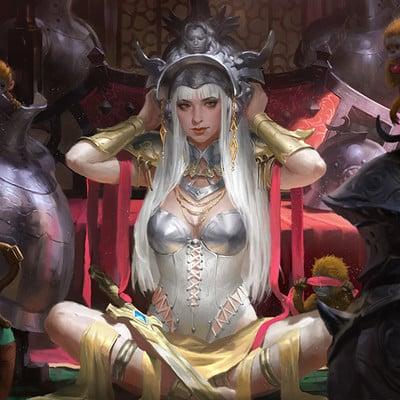 Kilart   amored princess by kilartdev dabwitt