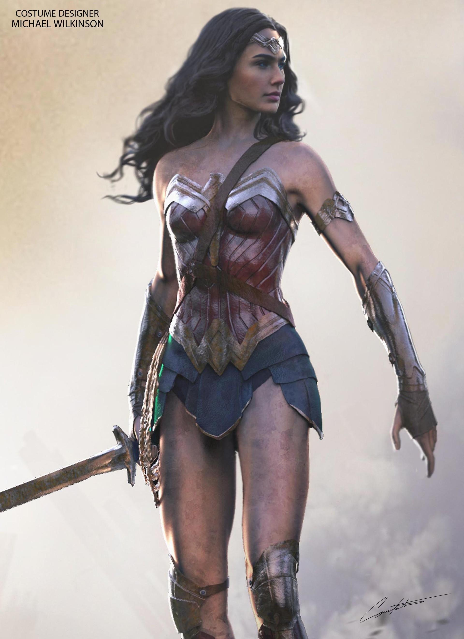 Artstation Wonder Woman Constantine Sekeris